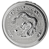 Perth Mint Silver (2000 Dragon Coins) (Series 1)